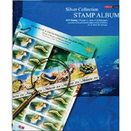 image of Uni Paper Silver Collection Stamp Album SSA-222