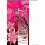 Uni Paper A4 Colour Binding Set S-1102