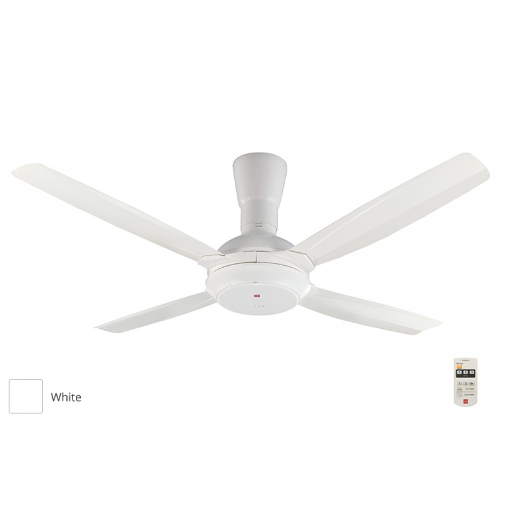 KDK Remote Control Type Ceiling Fan (140cm/56″) K14X5-WT