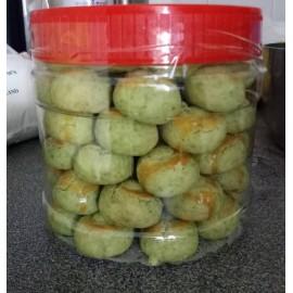 image of Homemade Green Peanut CNY Cookie
