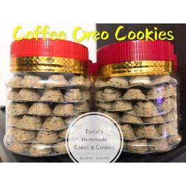image of Homemade Coffee Oreo Cookies