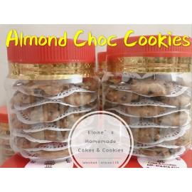 image of Homemade Almond Chocolate Cookies