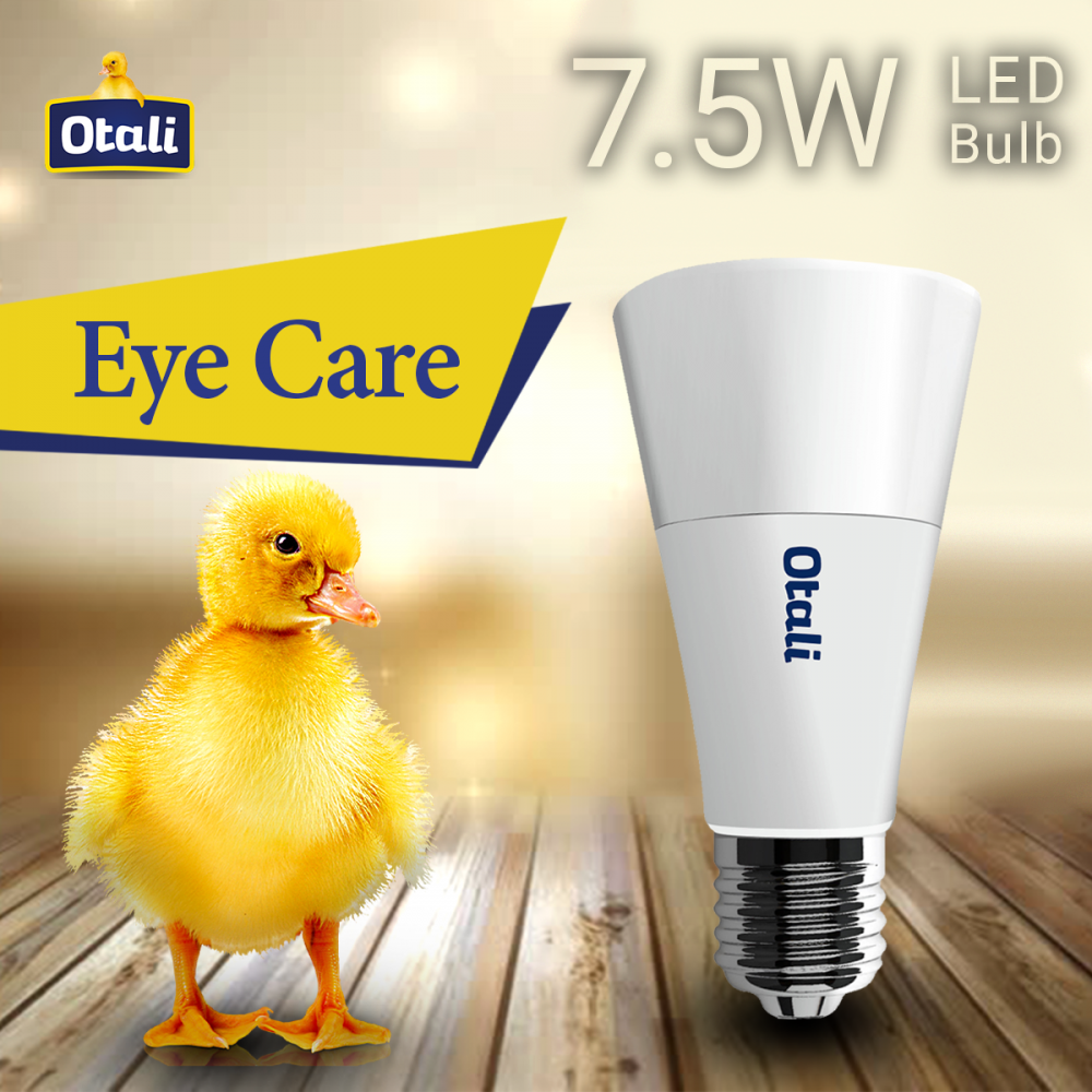 Otali Eye Care LED Otali Bulb 7.5W E27 x2 pcs