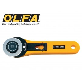 image of Olfa 45mm Straight Handle Rotary Cutter RTY-2/G