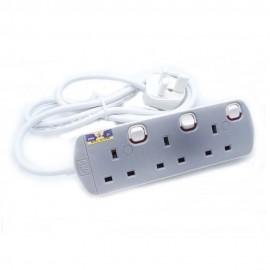 image of UMS 13AMP Portable Switched Socket Outlet  3y 8413-N