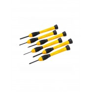 image of Stanley Bi-Material Handle Precision Screwdriver Set (6pcs) STHT66052-8