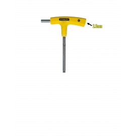 image of Stanley T-Handle Hex Key-Yellow 69-278