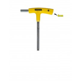image of Stanley T-Handle Hex Key-Yellow 69-280