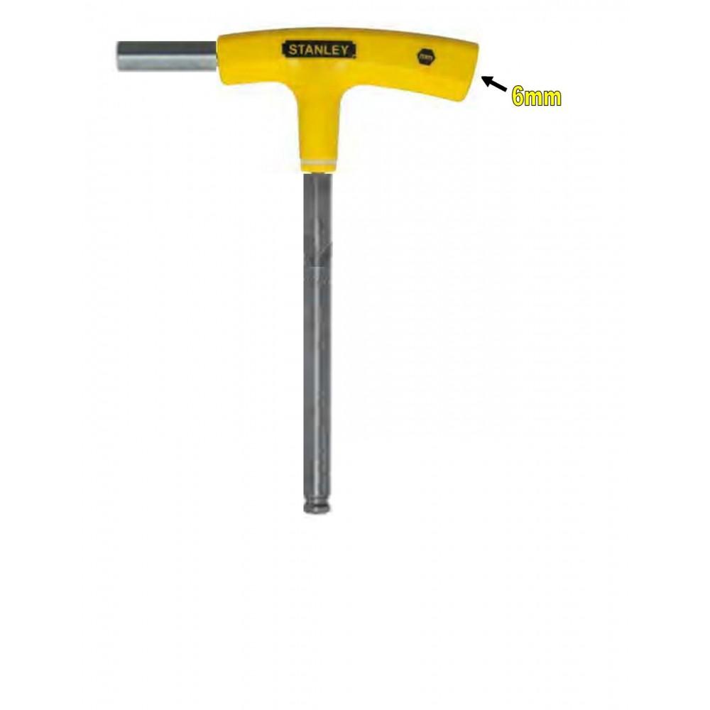 Stanley T-Handle Hex Key-Yellow 69-282