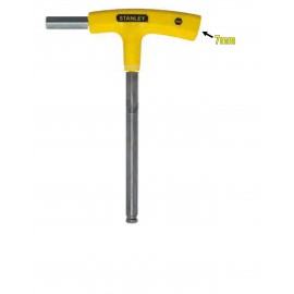 image of Stanley T-Handle Hex Key-Yellow 69-283