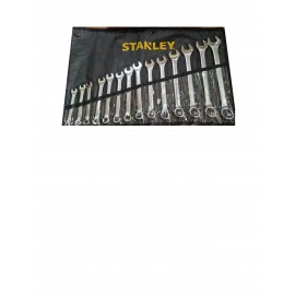 image of Stanley  Slimline Combination Wrench Set (14pcs) 87-036-1