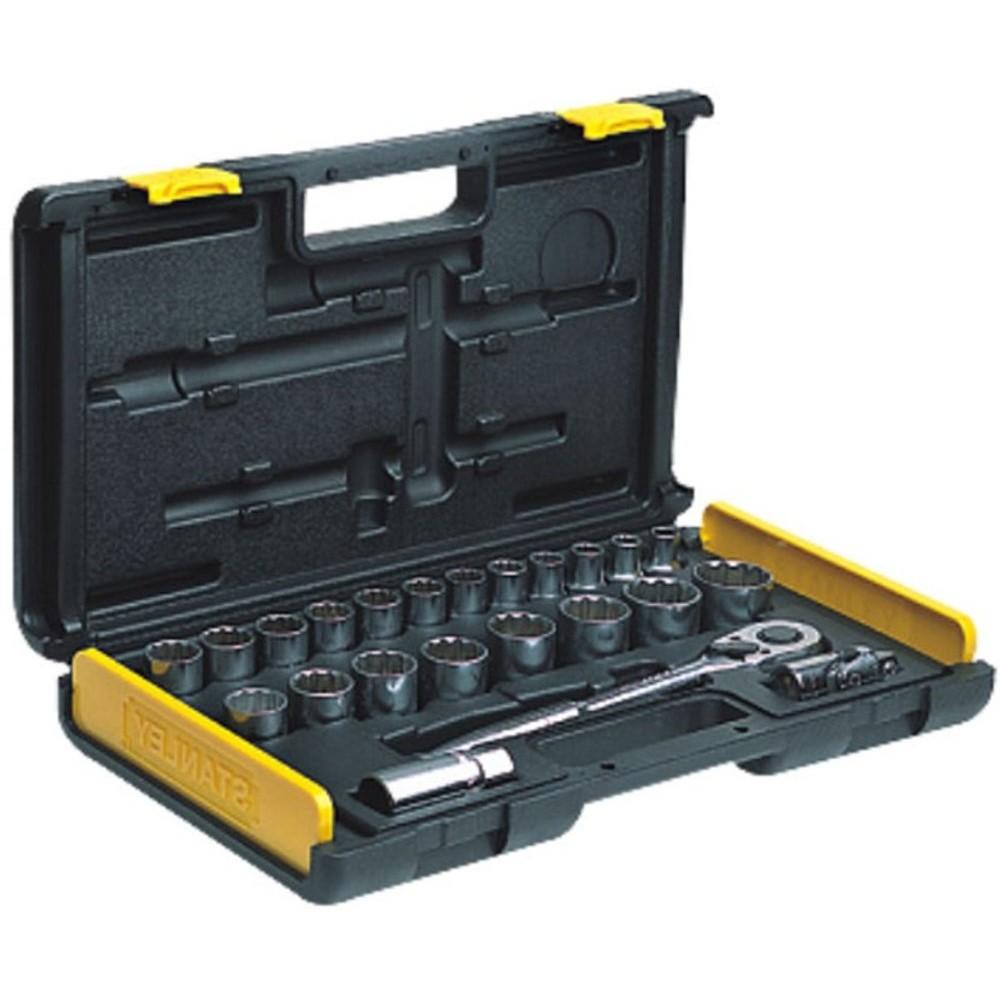 """Stanley 1/2"""" Drive Socket-Inch Set (27pcs) 86-478-1"""