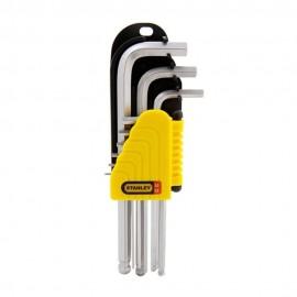 image of Stanley Hex Key-Chrome Set (9pcs) 69-119
