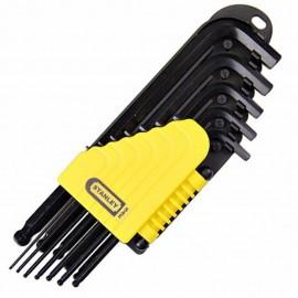 image of Stanley Hex Key-L/Arm IMP Set (12pcs) 69-257
