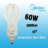 image of Midea Lotus Saver 60W E27 Warm White