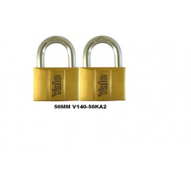 image of Yale Brass Padlock (50mm) V140-50KA2