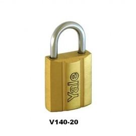 image of Yale Brass Padlock (20mm) V140-20