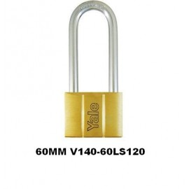 image of Yale Brass Padlock (60mm) V140-60LS120