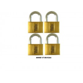 image of Yale Brass Padlock (40mm) V140-40KA4
