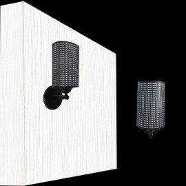 image of Wall Lamp W916/1  BK