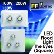 image of FFL LED The Eyes Flood Light (Square)Cool White 100W | 150W | 200W