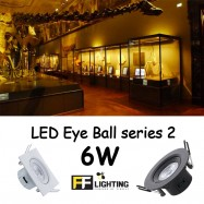 image of FFL LED EYE BALL S2 6W WARM WHITE