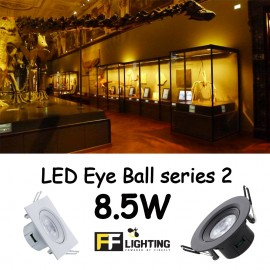 image of FFL LED EYE BALL S2 8.5W WARM WHITE