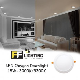 image of FFL Oxygen downlight 18w Round - Eye care series