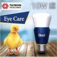 image of Taiwan Otali Eye Care LED Sapphire Bulb 10W E27 Super bright x2 pcs