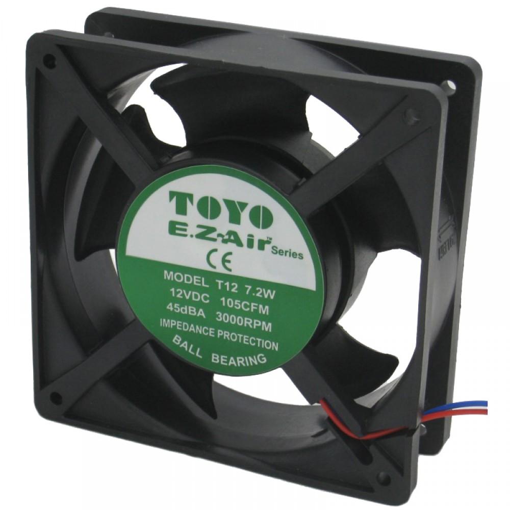 TOYO 4'' MiniBlower Fan (TM-Series)  Ball Bearing