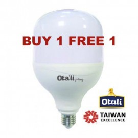image of Taiwan Otali Eye Care LED ET Bulb 45W E27 Cool White (Buy 1 Free 1)
