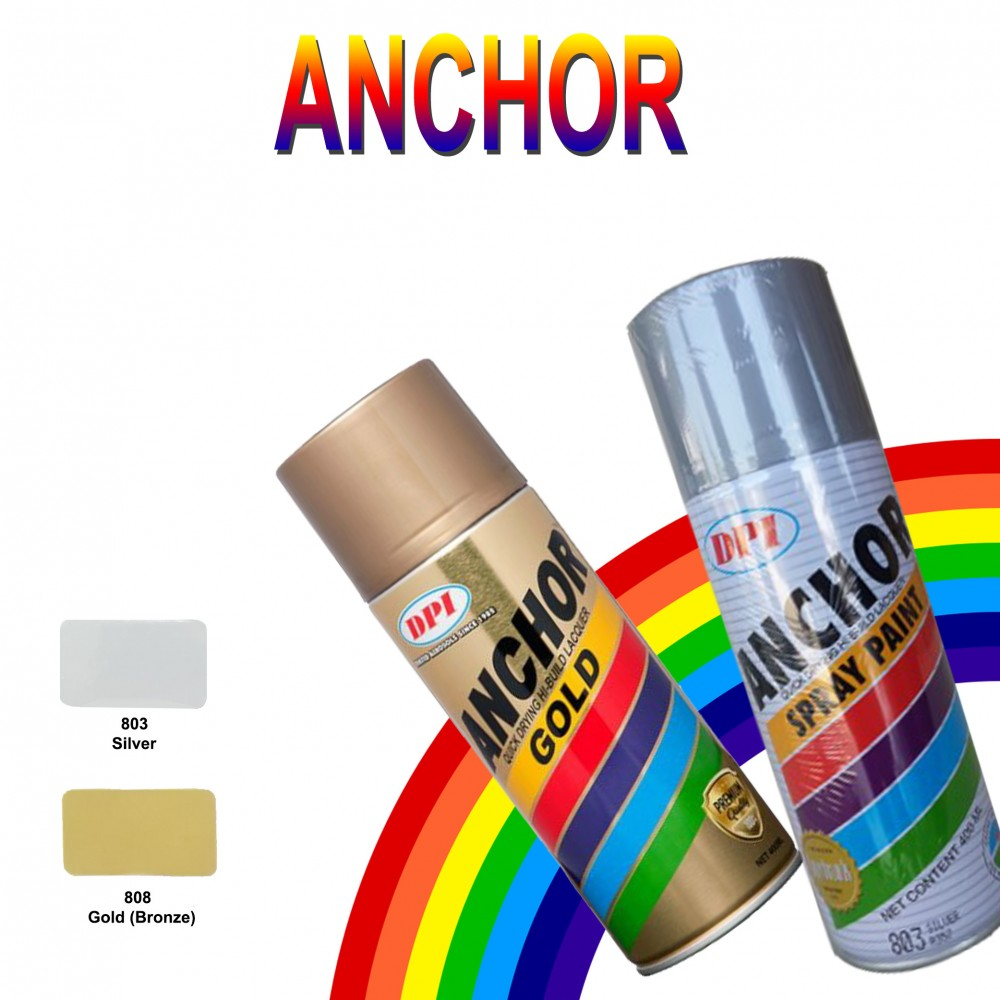 Anchor Spray Paint-Standard Colour