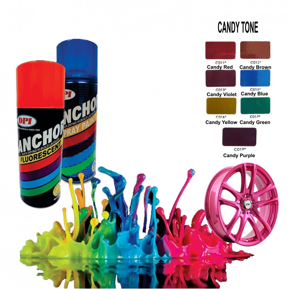 Anchor Spray Paint - Candy Tone Colour
