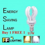 image of FFL Lotus Bulb 11W  E14 Buy 1 FREE 1