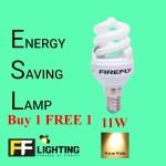 FFL FSP Energy Saving Bulb 11W E14  Warm White Buy 1 FREE 1