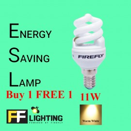 image of FFL FSP Energy Saving Bulb 11W E14  Warm White Buy 1 FREE 1