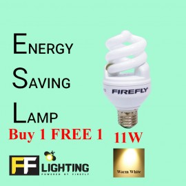 image of FFL FSP Energy Saving Bulb 11W E27  Warm White Buy 1 FREE 1