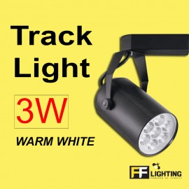 image of FF Lighting LED Track Light  3W Warm White