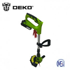 image of DEKO DKGT06 20V Lithium 1500mAh Cordless Grass Trimmer