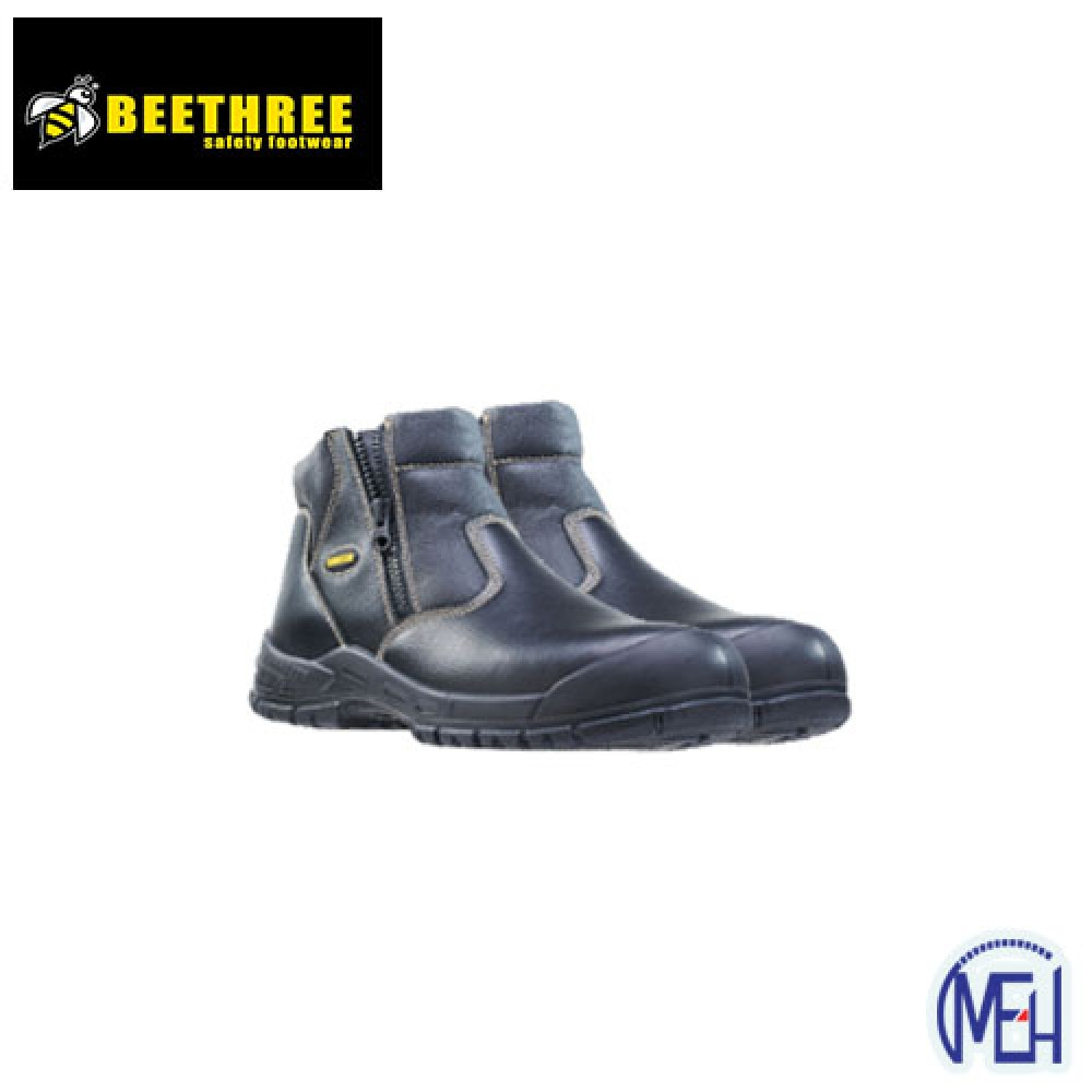 Beethree SafetyFootware BT- 8833 Black