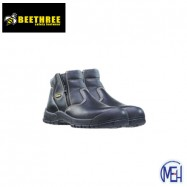 image of Beethree SafetyFootware BT- 8833 Black