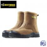 Beethree SafetyFootware BT-8863 Brown