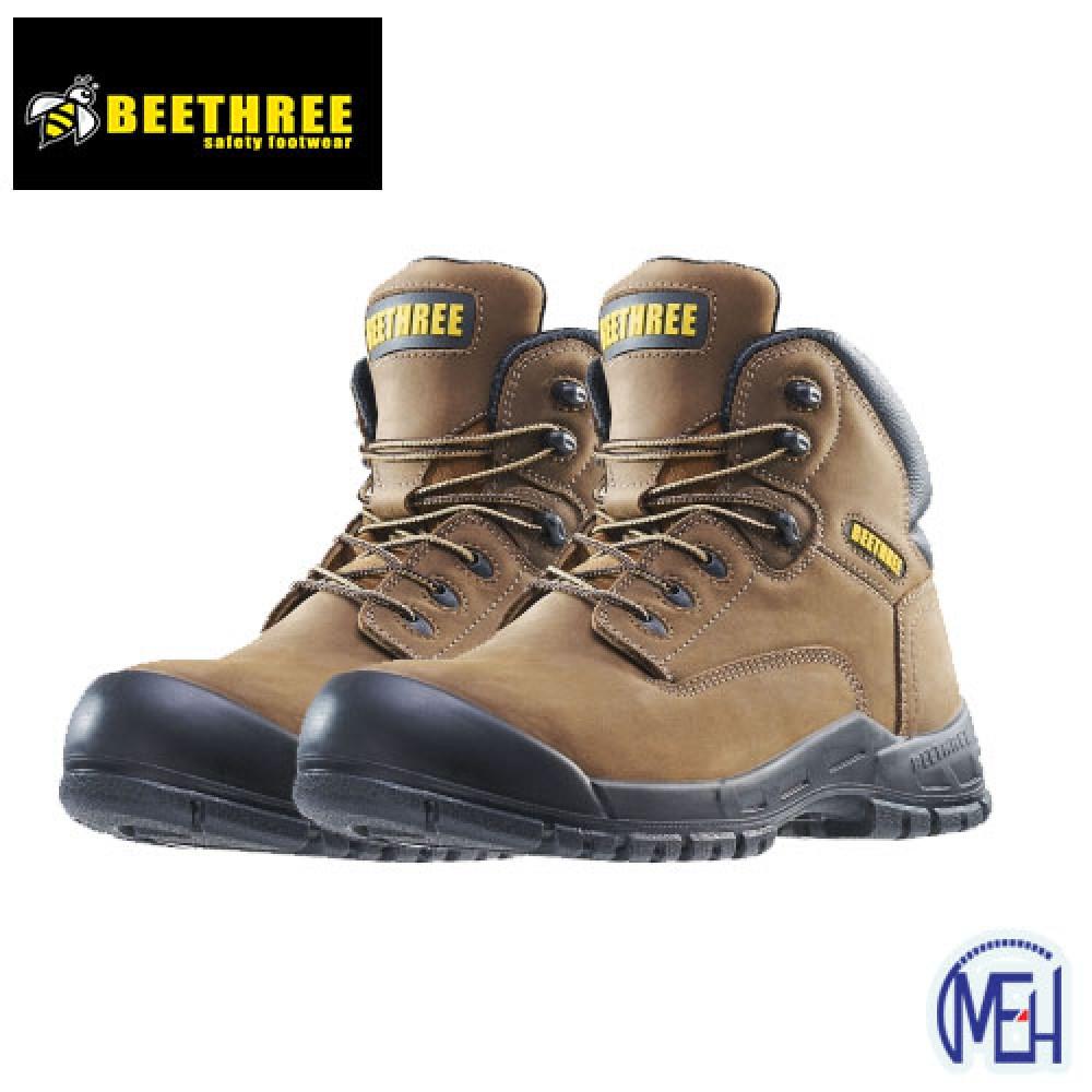 Beethree SafetyFootware BT-8862 Brown