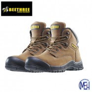image of Beethree SafetyFootware BT-8862 Brown