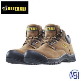 image of Beethree SafetyFootware BT-8861 Brown