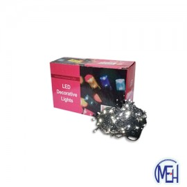 image of 100 Pcs LED ICELE  Light  Indoor/Outdoor W/W