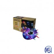 image of Minlite  9928 100 pcs LED    ICELE light  Multicolour
