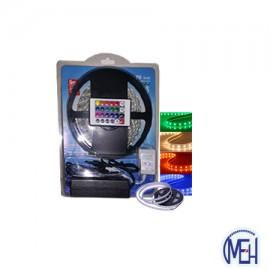 image of LED 5050 (5MTR) Strip light   RGB C/W Controler Multicolour