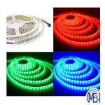 LED 5050 (5MTR) Strip light   RGB C/W Controler Multicolour