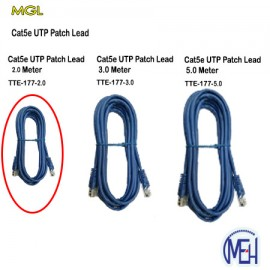 image of Cat5e UTP Patch leads 2.0 Meter(TTE-177-2.0)